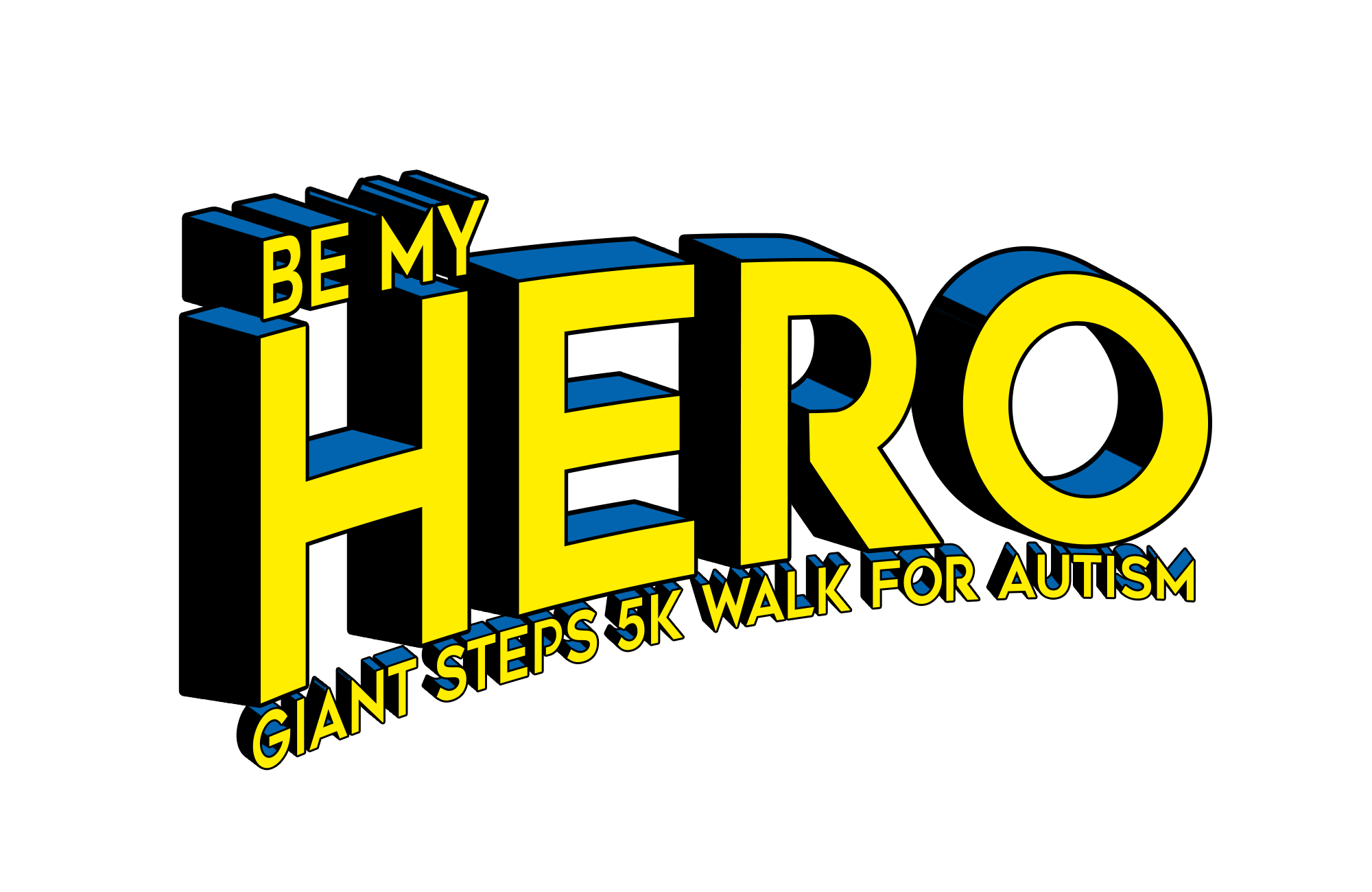 Be My Hero Logo [5K 2019]